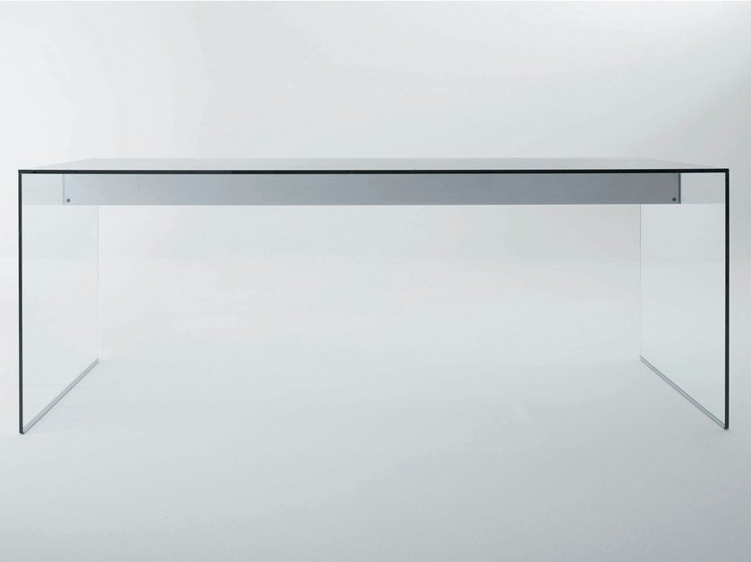 Crystal writing desk AIR DESK | Writing desk by Gallotti&Radice