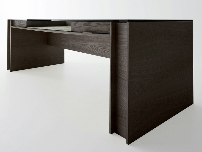 Executive desk with drawers MILANO by Gallotti&Radice