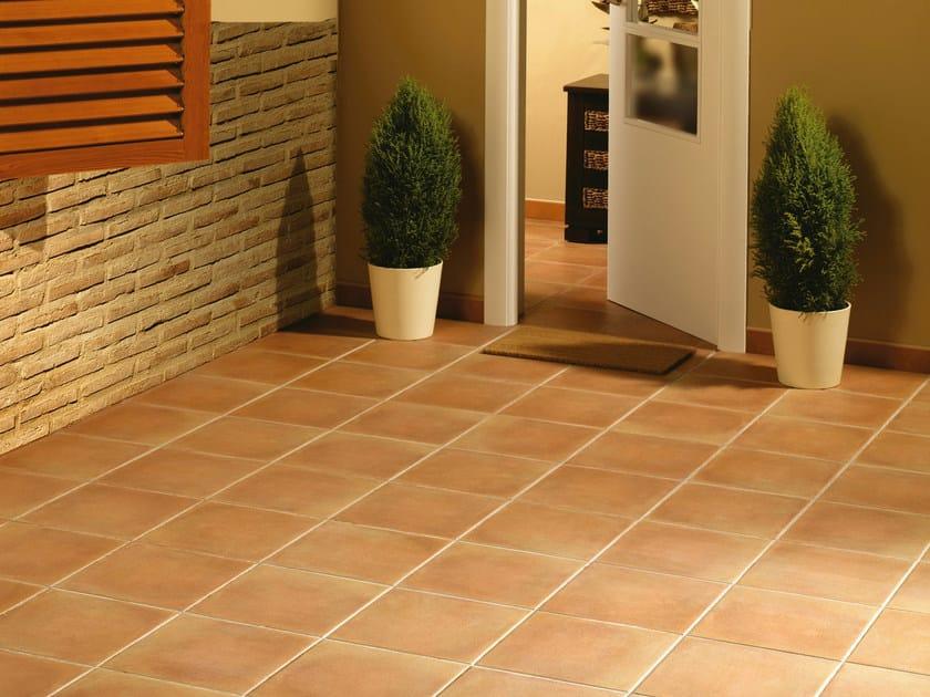 Porcelain stoneware outdoor floor tiles DUERO by REALONDA