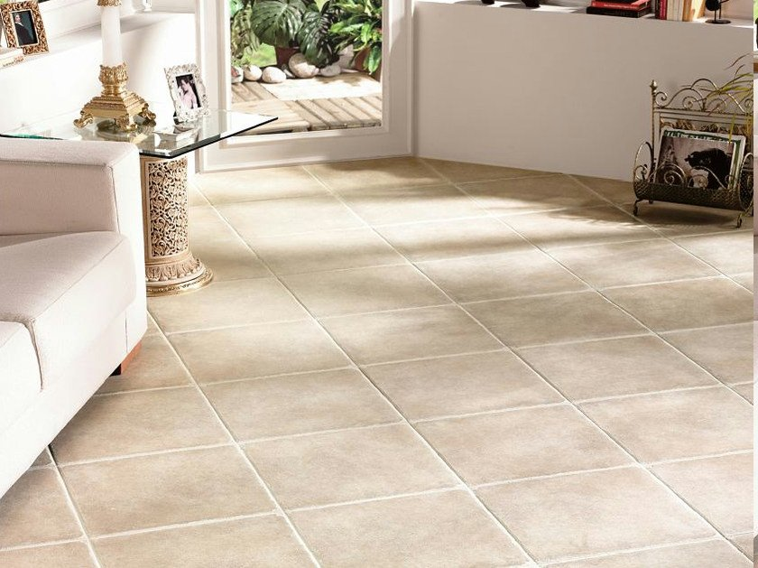 Indoor/outdoor porcelain stoneware flooring COUNTRY by REALONDA