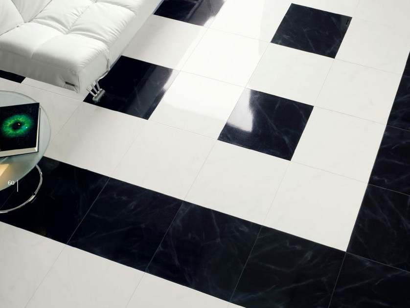 Red-paste flooring CARRARA - MARQUINA by REALONDA