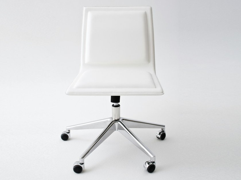 Task chair with casters OFX 09 by Gallotti&Radice