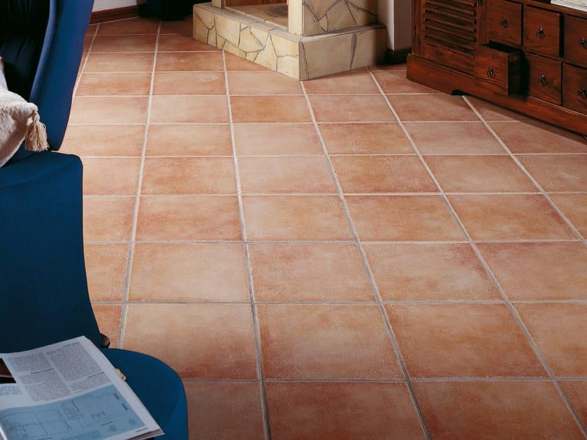 Indoor/outdoor porcelain stoneware flooring COBBLE by REALONDA