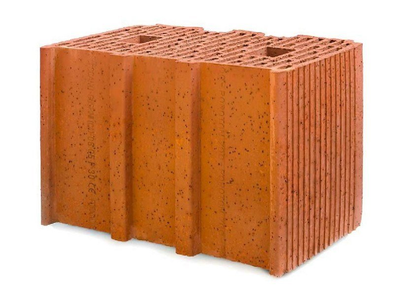 Clay building block POROTON 700-38.5 Dlgs 311 by FORNACI SCANU