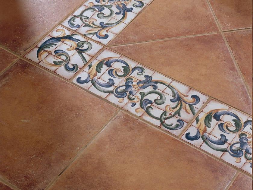 Red-paste flooring ALMAGRO by REALONDA