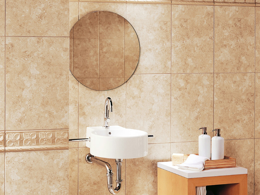 Red-paste wall tiles ANTIBES by REALONDA