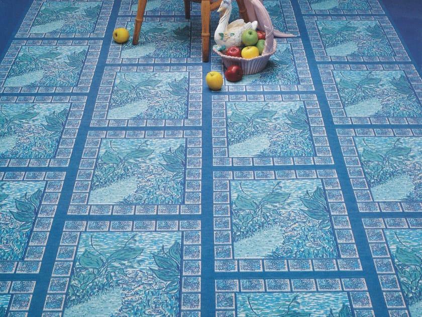 Resilient flooring GAIETY by TECNOFLOOR
