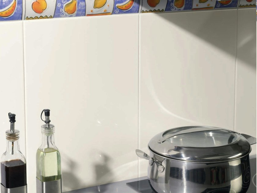 Red-paste wall tiles BLANCOS by REALONDA
