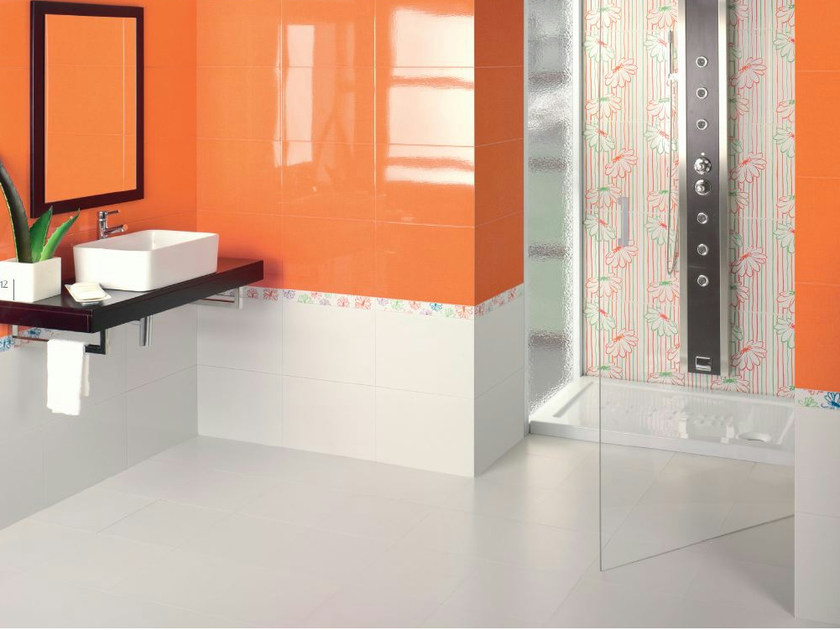 Red-paste wall tiles CROMA by REALONDA