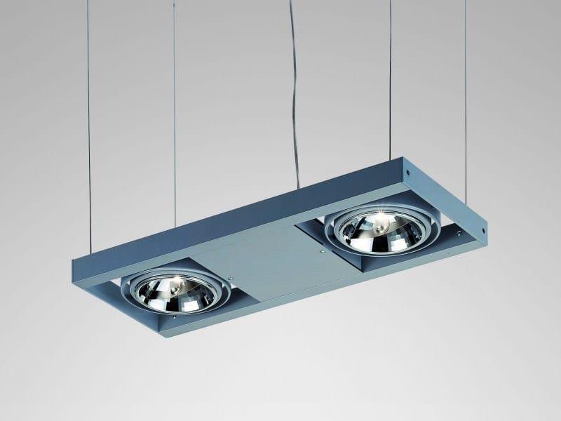 Aluminium pendant lamp STRUTTURA   Pendant lamp by LUCIFERO'S