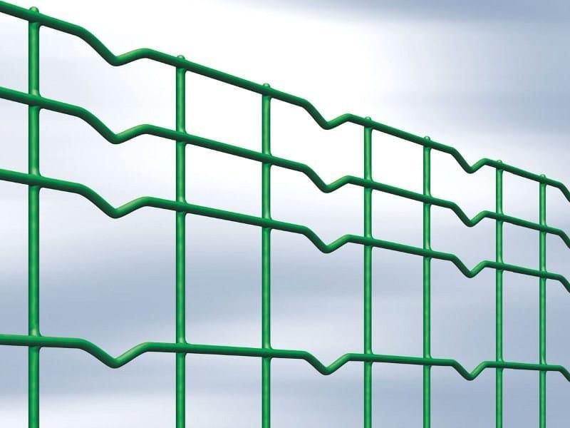Plasticized galvanized steel Fence COMBIPLAX by Gruppo CAVATORTA