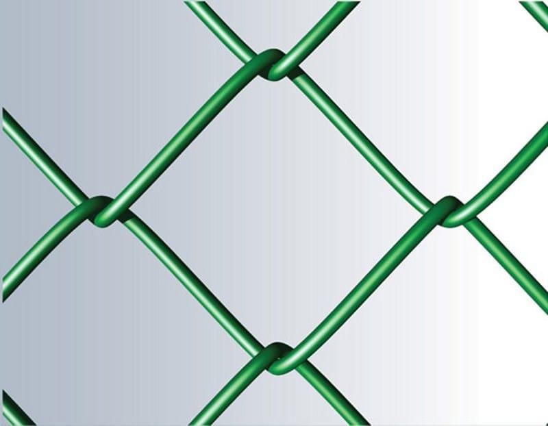 Plasticized wire mesh Fence REPLAX T 70 by Gruppo CAVATORTA
