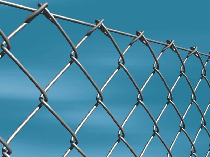 Galvanized steel Fence GALVANIZED CHAINLINK by Gruppo CAVATORTA