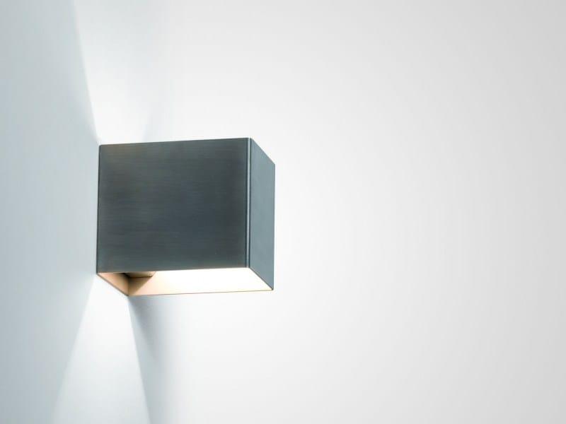 Direct-indirect light metal wall lamp RIGO | Wall light by LUCIFERO'S