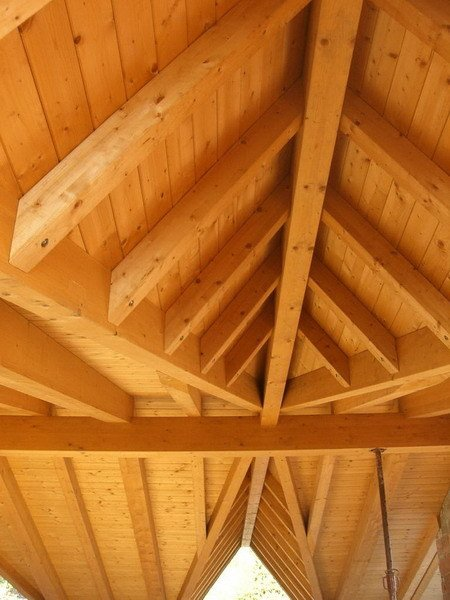 Timber roof structure and timber truss Timber roof structure and timber truss by GALLOPPINI LEGNAMI
