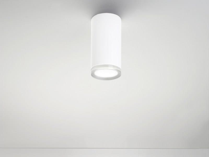 Methacrylate ceiling lamp SCENAMUTA by LUCIFERO'S