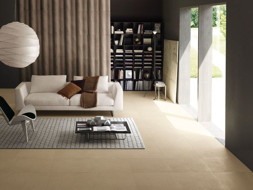 Porcelain stoneware wall/floor tiles with stone effect MONOLITH by MARAZZI
