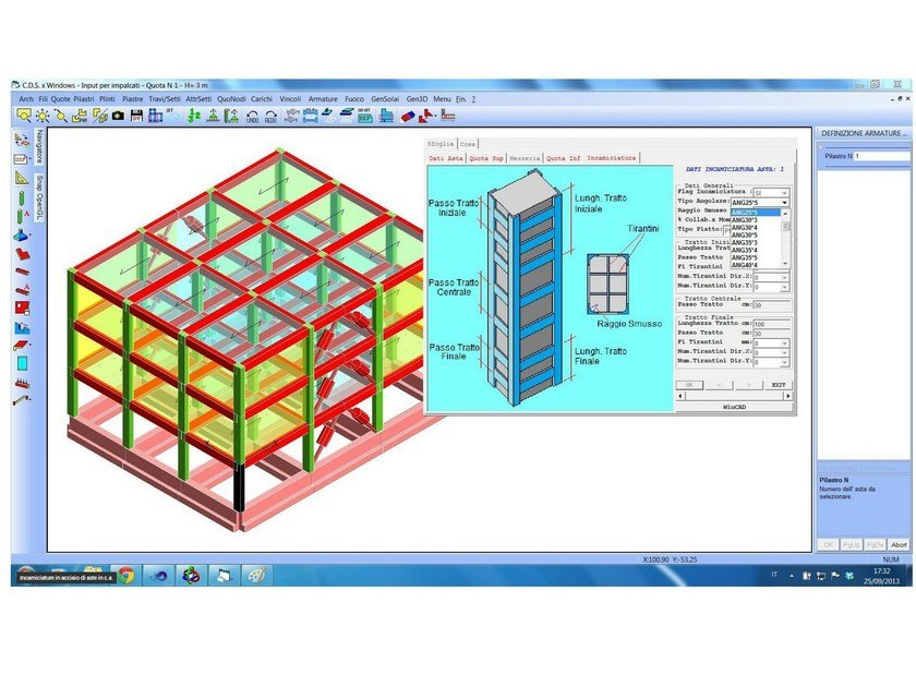 Finite element (FEM) structural resolver CDS Win by STS