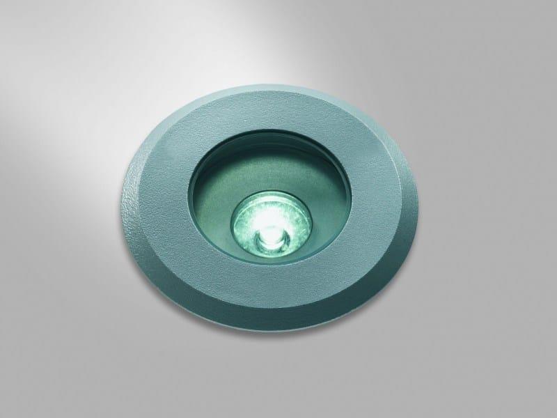 LED outdoor aluminium steplight FORMAT 34F by LUCIFERO'S