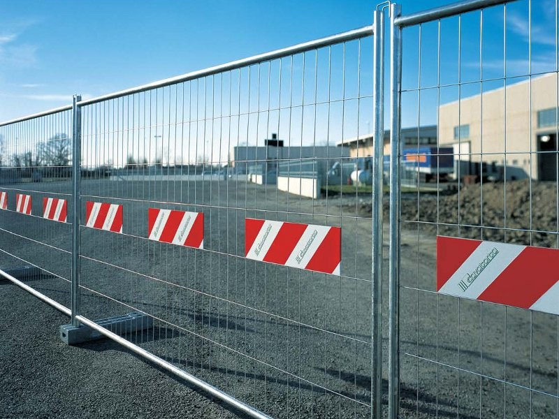 Construction site temporary and mobile fencing MOBITEC by Gruppo CAVATORTA