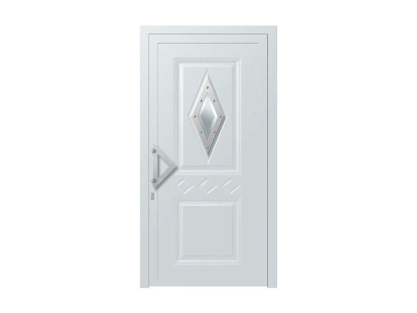 Glass and aluminium door panel STILUS by ROYAL PAT
