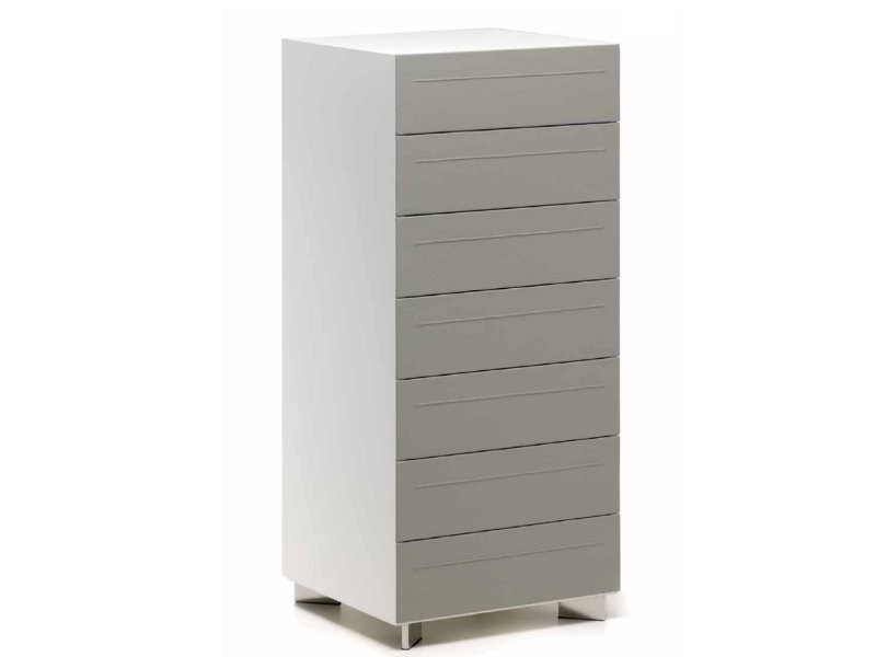 Leather chest of drawers DYNO   Chest of drawers by Cattelan Italia