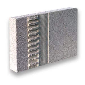 Thermal insulation sheet and panel in mineral fibre MULTIPOR TOP by Xella Italia - YTONG