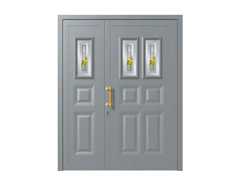 Glass and aluminium armoured door panel ERIDANO/KS1+ERIDANO/K2 by ROYAL PAT