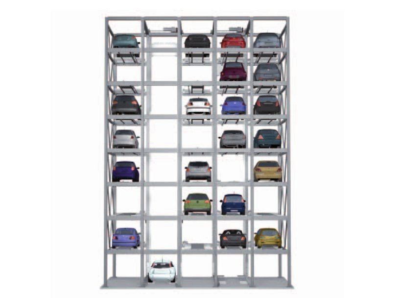 Automatic parking systems Combiparker 555 by IDEALPARK