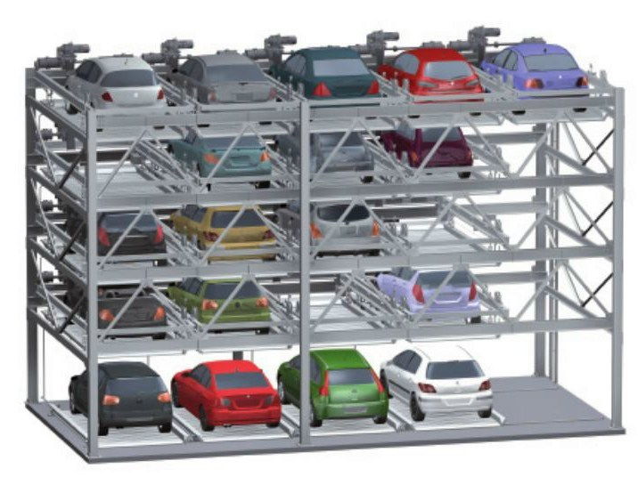 Automatic parking systems Combiparker 556 by IDEALPARK