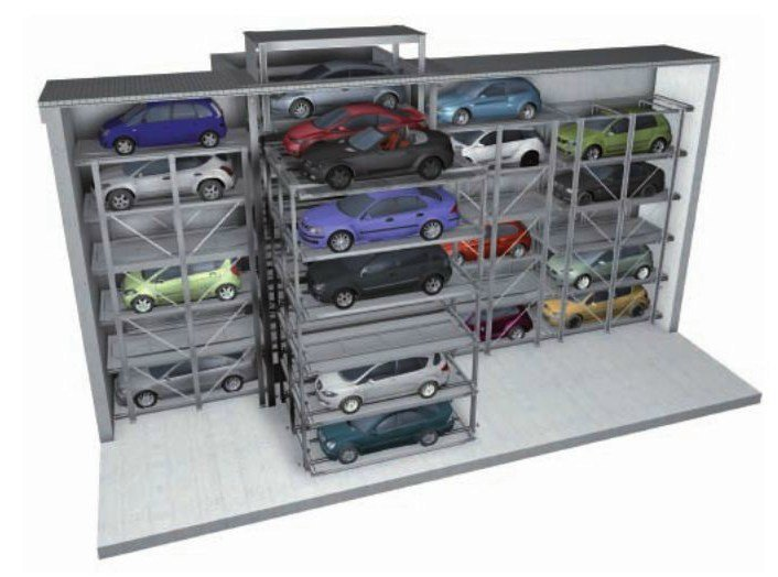 Automatic parking systems Crossparker 558 by IDEALPARK