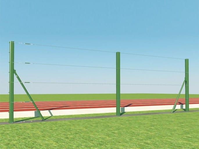 Palo per recinzione di campi sportivi PALI T SPORT by Gruppo CAVATORTA