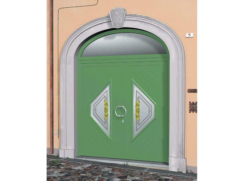 Glass and aluminium armoured door panel SIGMA/KB1+SIGMA/KB1 by ROYAL PAT