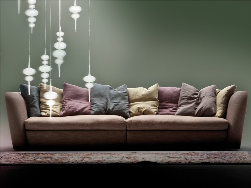Sectional sofa ATOLLO | Sectional sofa by ERBA ITALIA