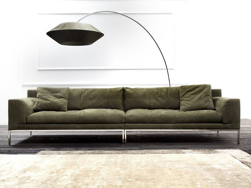 Sectional sofa EDIZIONE by ERBA ITALIA