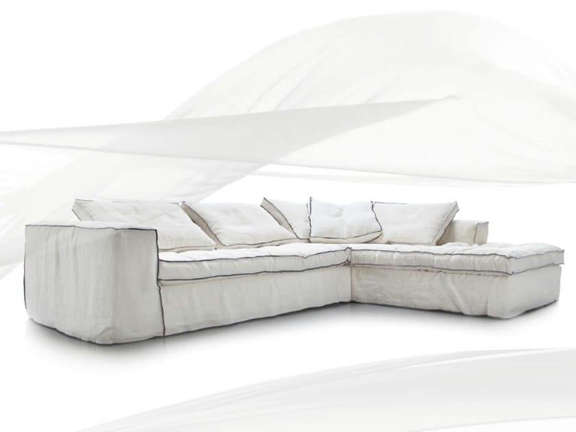Sectional sofa CARTA BIANCA by ERBA ITALIA