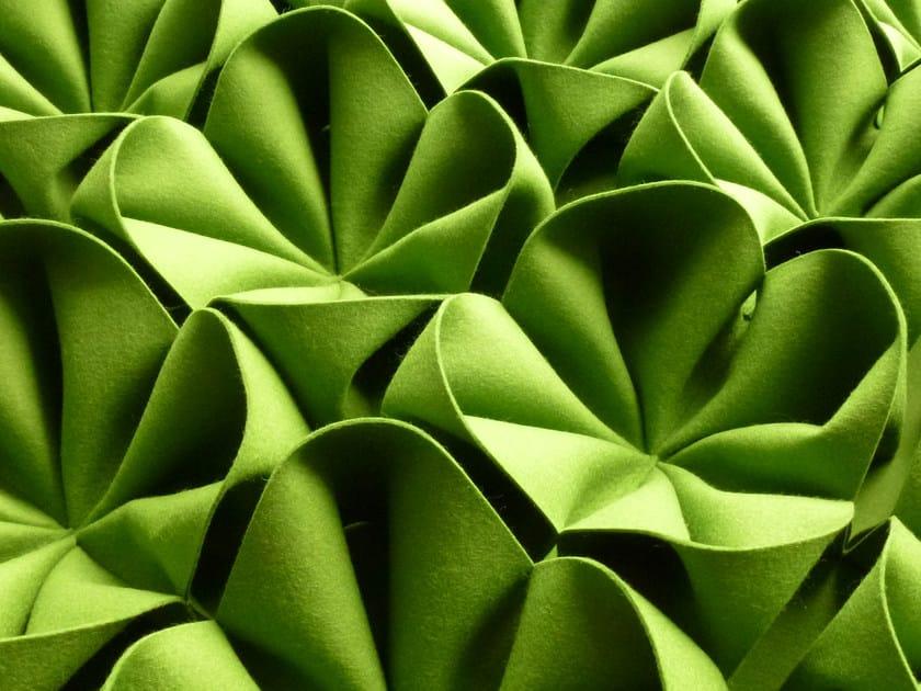 Wool felt decorative acoustical panel DANI   Wool felt decorative acoustical panel by Anne Kyyrö Quinn