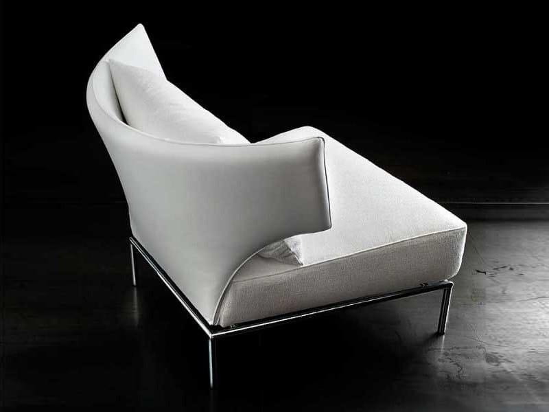 Upholstered wingchair ABBRACCIO by ERBA ITALIA