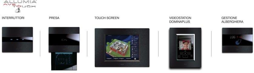 ALLUMIA TOUCH Scalabilità Allumia Touch antracite