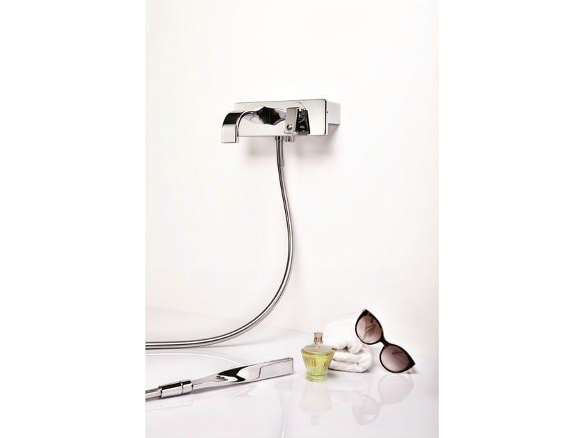Wall-mounted single handle bathtub mixer NASTRO | Bathtub mixer by RITMONIO