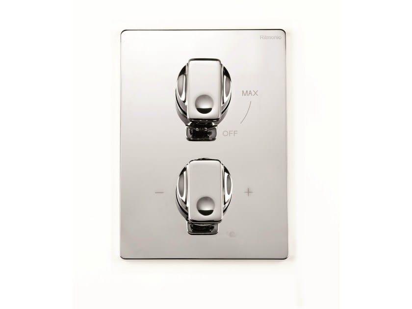 2 hole thermostatic shower mixer NASTRO | 2 hole thermostatic shower mixer by RITMONIO