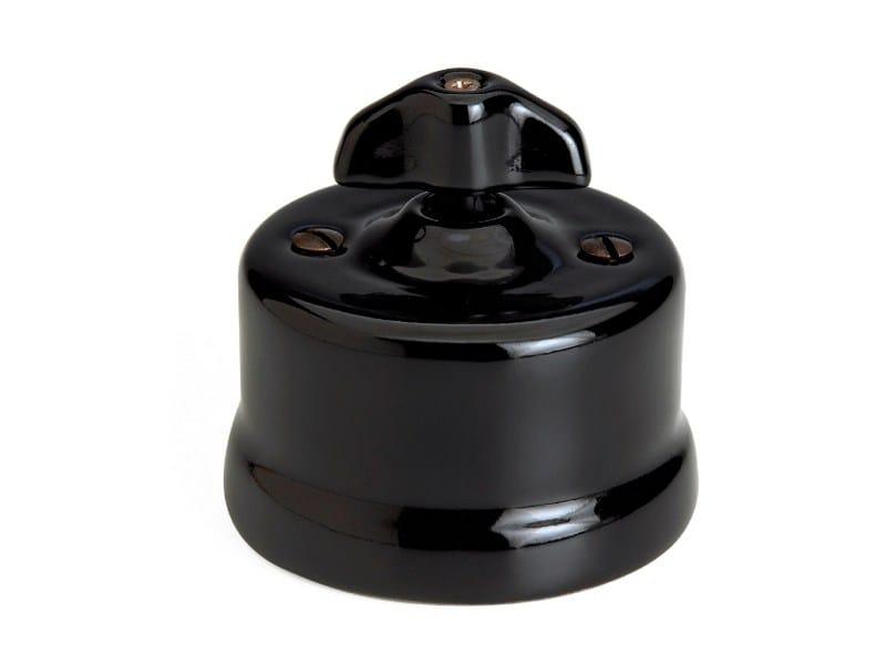 Garby Black retro knob