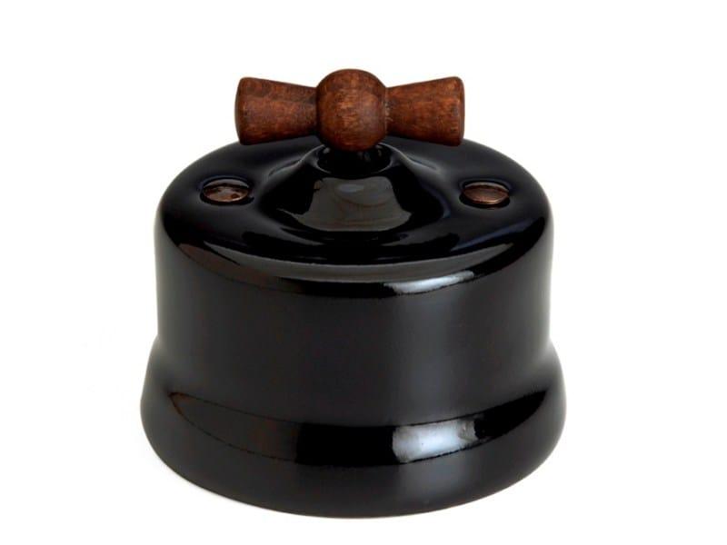 Garby Black old wood knob