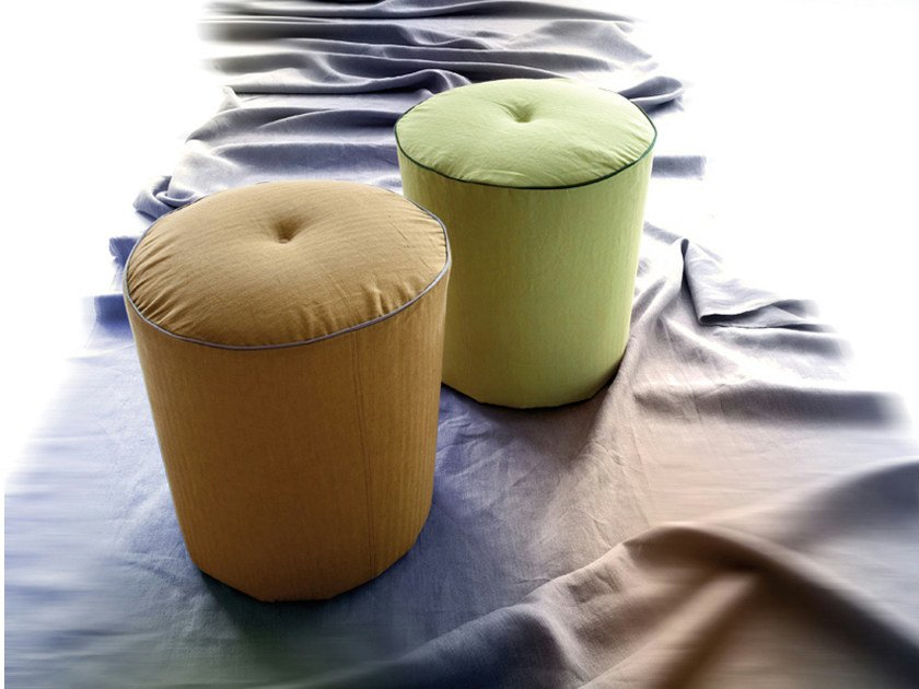 Upholstered pouf DRINK by ERBA ITALIA