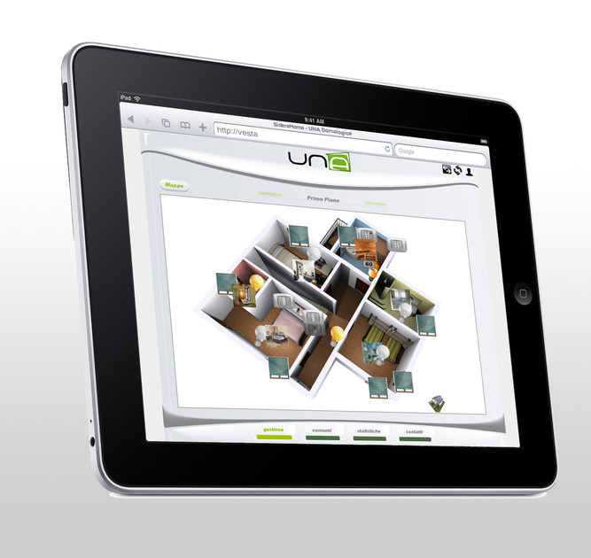 UNA - Home and building automation system Sistema UNA by Master Elettrica