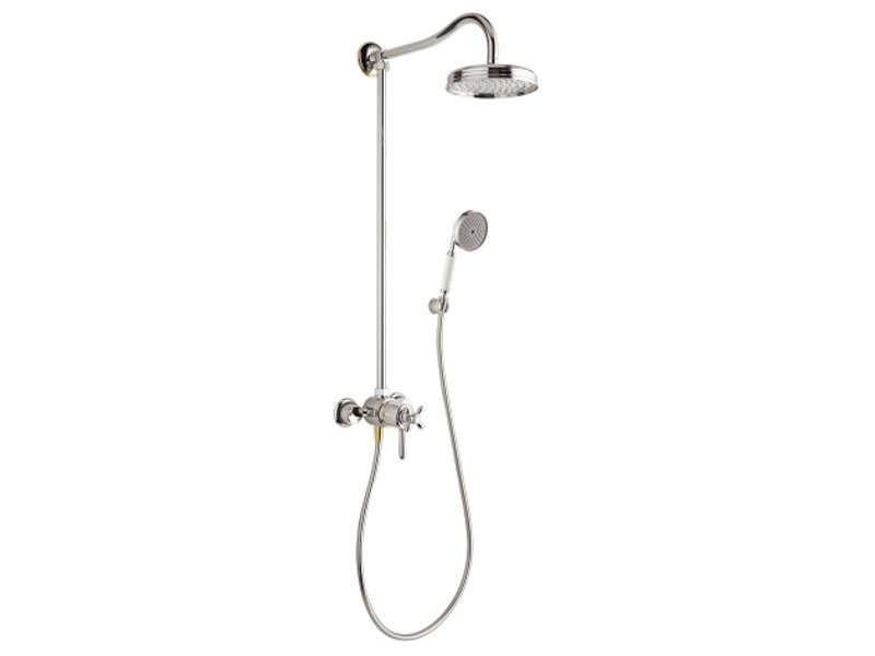 Thermostatic shower panel AXOR CARLTON | Shower panel by hansgrohe