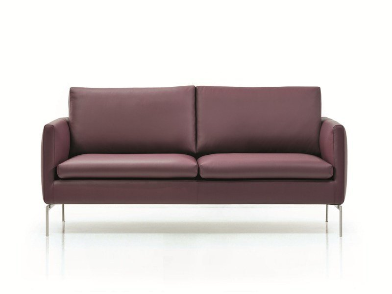 2 seater leather sofa HOPI | 2 seater sofa by ESTEL GROUP