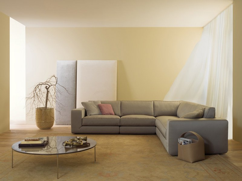 Corner sectional leather sofa PABLO | Corner sofa by ESTEL GROUP
