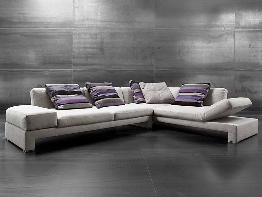 Sectional recliner sofa FREE SPIRIT by ERBA ITALIA