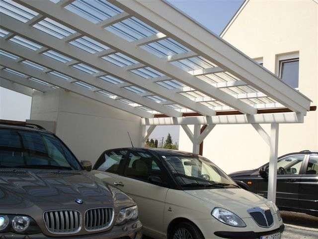 Polycarbonate porch for parking areas FASTLOCK | Polycarbonate porch by Icopal